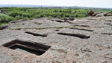 Stone Carved Indentations at Agarak