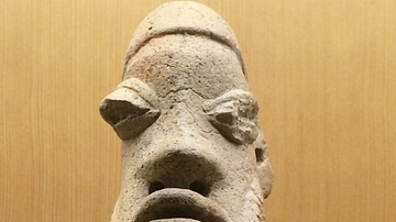 Terracotta Head from Mali's Inland Niger Delta Region