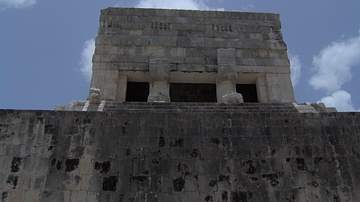 The Ball Court Temple at Chichen Itza