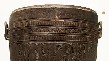Dong Song Bronze Situla from Vietnam