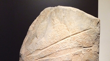 Warrior Stela from Bronze Age Iberia