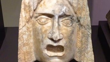 Hispano-Roman Marble Mask
