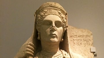 Funerary Bust of a Palmyrene Lady