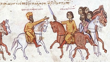 Basil I & Leo VI Confront Each Other