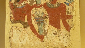 Ancient Egyptian Funeral Painting