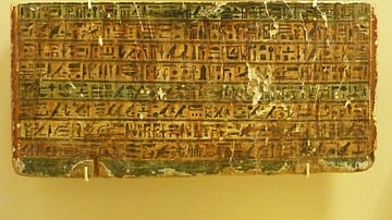 Portion of an Ancient Egyptian Stela