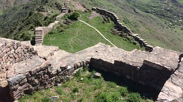 Smbataberd Fortress in Armenia