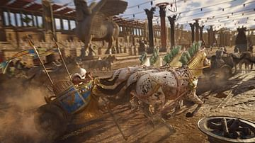 Ancient Chariot Race