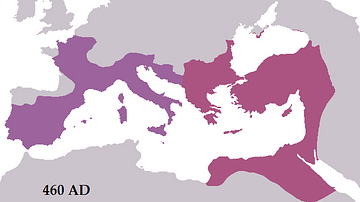 Byzantine Empire c. 460 CE