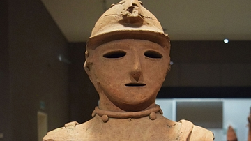 Japanese Haniwa Warrior