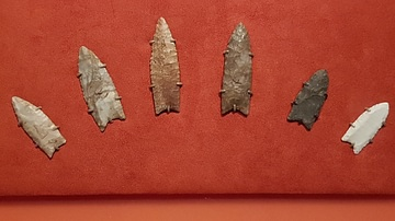 Clovis Spear Points
