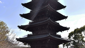 Toji Temple's Five-Story Pagoda