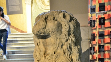 Lion Statue from the Bucaleon Palace