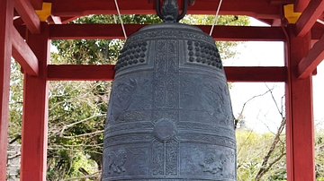 Belfry at Byodoin Temple in Uji