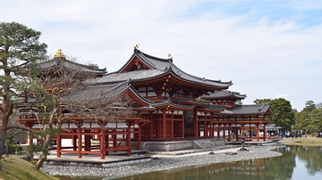 The Heian-era Byodoin Temple