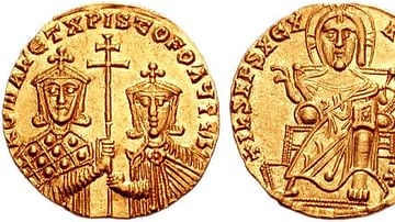 Gold Coin of Romanos I