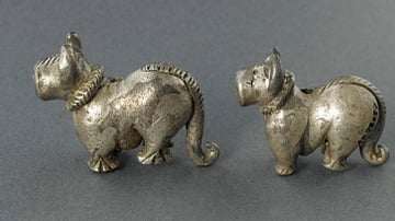 Silver Dogs from Bactria