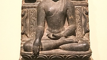 Buddha in the Attitude of the Victory over Mara
