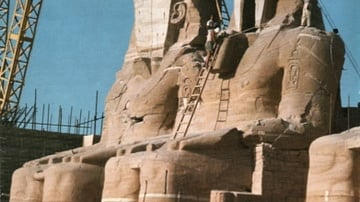 Abu Simbel - Work in Progess