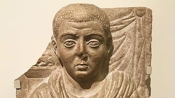 Funerary Relief of a Old Man