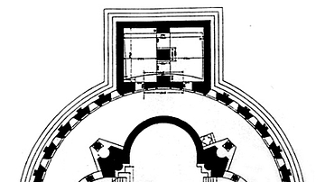 Zvartnots Cathedral Plan