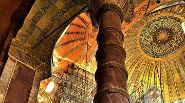 Column of Hagia Sophia