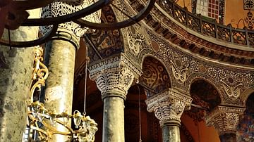 picture of byzantine columns