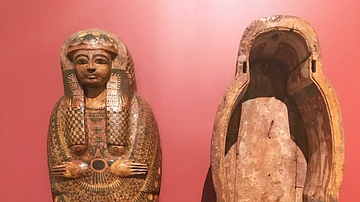 Coffin of the Chantress of Amun