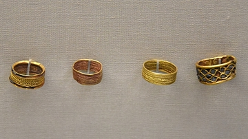 Mesopotamian Finger Rings