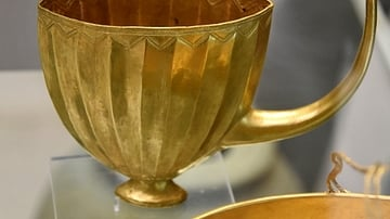 Gold Spouted Cup from Ur