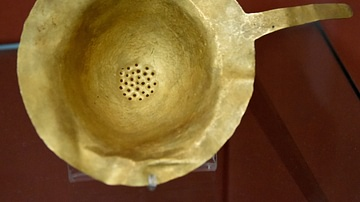 Mesopotamian Gold Strainer