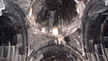 Interior Dome of Vahramashen Church