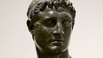 Bronze Bust of Ptolemy II Philadelphus