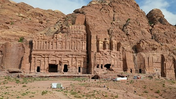 Nabataean Tombs of Petra