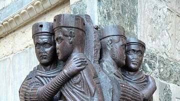 Portrait of the Four Tetrarchs