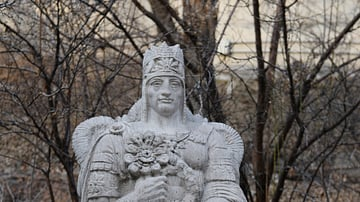 Statue of Tigranes the Great