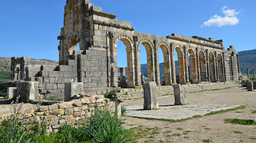 The Civil Basilica of Volubilis