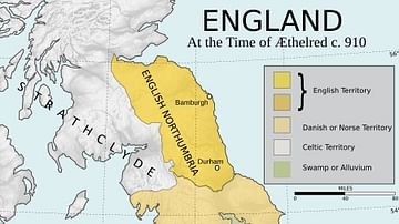 Map Of England King Alfred.Alfred The Great Ancient History Encyclopedia
