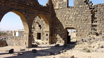 West Church, Umm el-Jimal (Jordan)