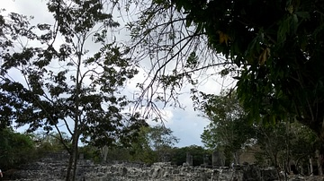 Maya Ruins of San Gervasio on Cozumel, Mexico