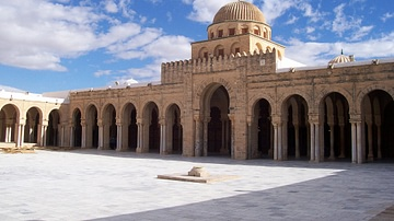 Kairouan Mosque Courtyard