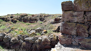 Ruins at Metsamor Archaeological Site in Armenia