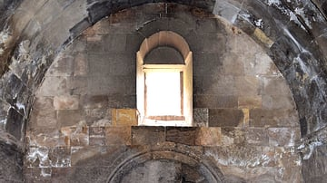 Interior of Surb Astvatsatsin Church at Noravank