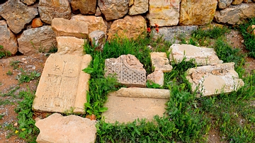Ruins from Surb Karapet Church at Noravank