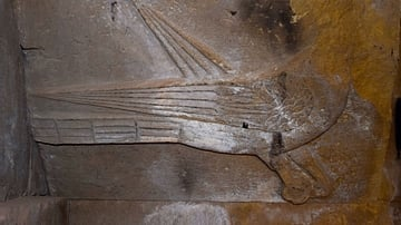 Bas-Relief of a Dove at Surb Karapet Church