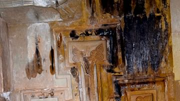 Detail of a Cross from Surb Karapet Church
