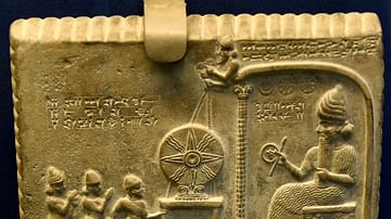 The Sun God Tablet or the Tablet of Shamash from Sippar