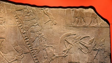 Assyrian Archers Attacking an Egyptian Fortress at Memphis