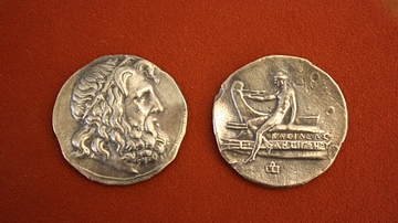 Antigonus Doson, Silver Tetradrachm of Macedon