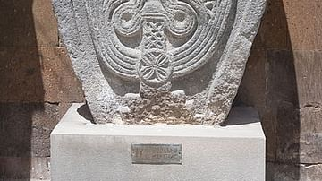 Armenian Cross-stone, Vagharshapat